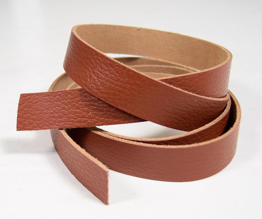 new style 9b27a e9875 120 cm Lederriemen Lederband 2,0-2,2 mm braun Breite 20 mm Leder Riemen  #lrd01