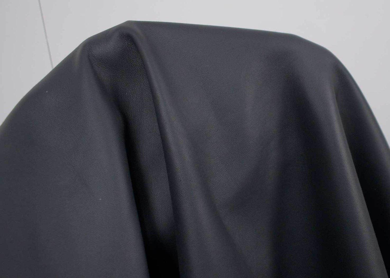 Lammleder Nappa Super Soft Semi Anilin Lederhaut Grau 0,7 0,9 Mm Leder  B Sortierung #l120x