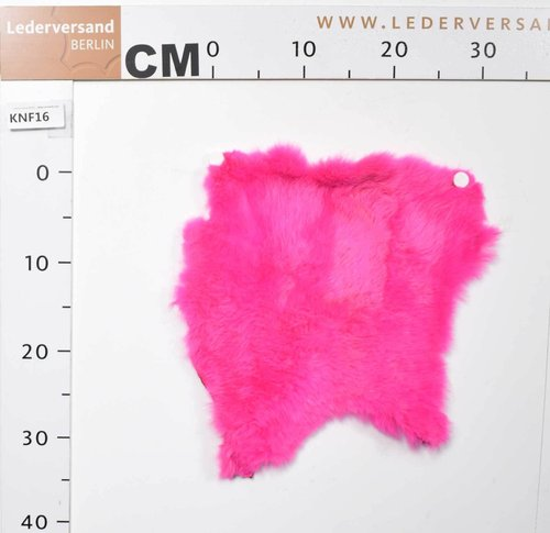Kaninchenfell Farbe: pink