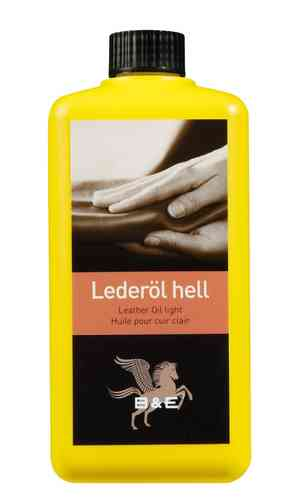B&E Lederöl hell 1000 ml