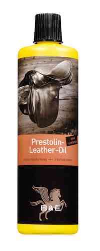 B&E Prestolin Leather Oil Lederöl 500 ml stark rückfettend