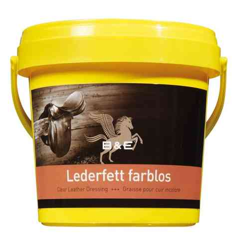 B&E Lederfett farblos Dose 100 ml