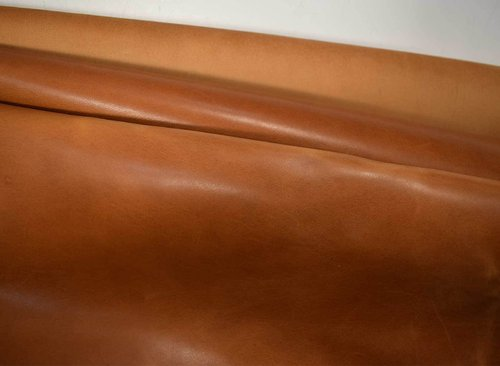 "Taschenleder ""Alberta"" natural-brown 1,1-1,3 mm Pull-Up-Leder Used-Look #tan"